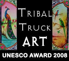 Tribal Truck Art